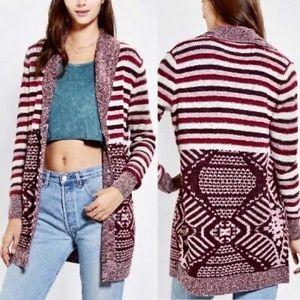 Urban Outfitters Ecote' Martin boho stripe sweater